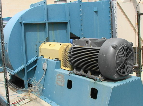 Twin City Fans And Blowers : Big industrial fan blower horsepower v good used ebay